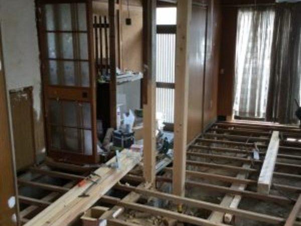 屋島の家 柱補強工事