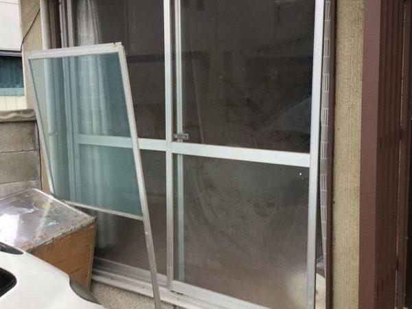 屋島の家 掃き出し窓