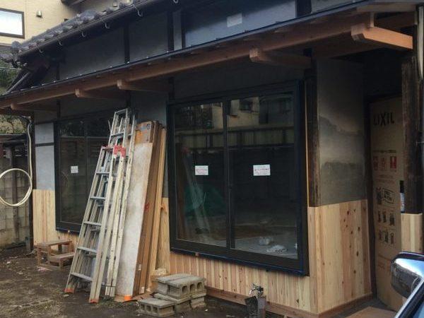 高松市多賀町で古民家改修工事 内装工事 応援に行って来ました!