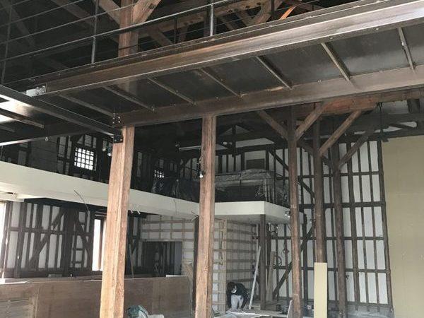 高松市北浜リノベーション  仕上げ工事 カラーモルタル