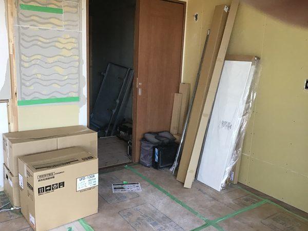 高松市桜町マンション改修工事中