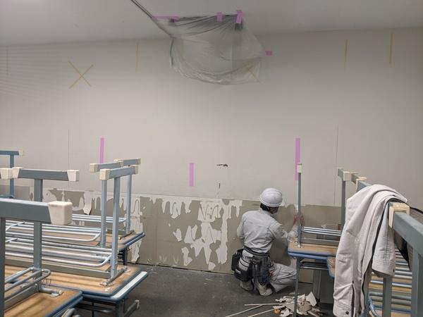 香川県高松市瓦町リフォ-ム会社の 内装工事