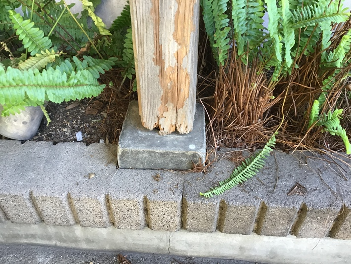 香川県高松市木太町外部柱補修工事のサムネイル
